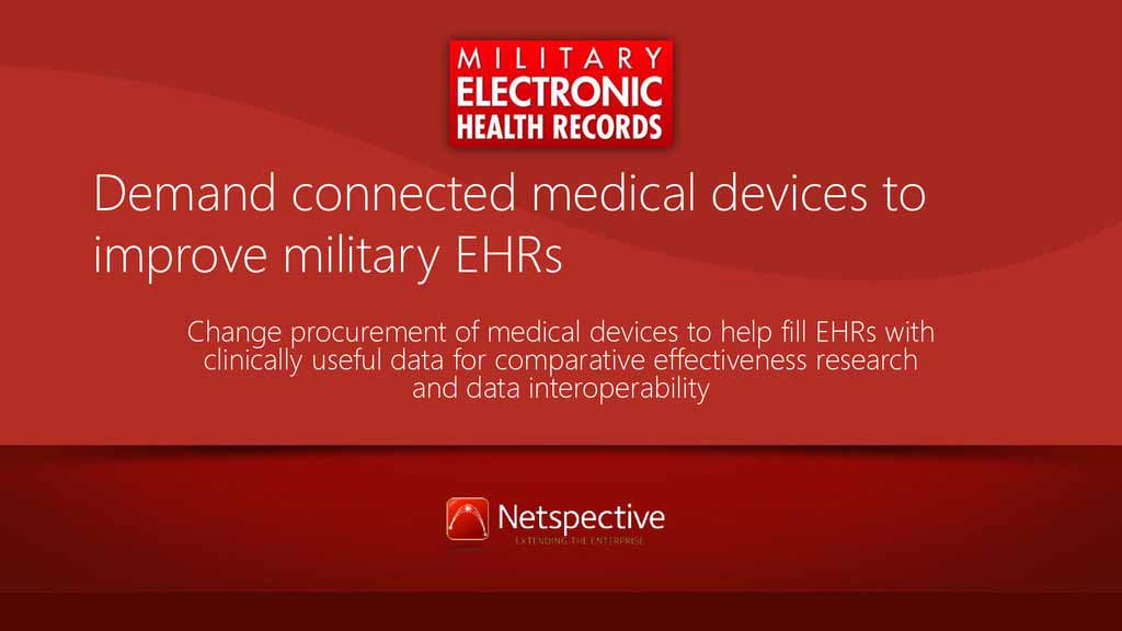 Military EHRs